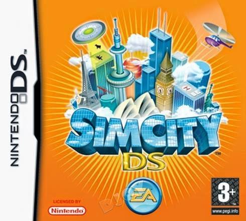SimCity DS (Nintendo DS) (Español)