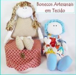 Aprenda a fazer lindas bonecas em tecido