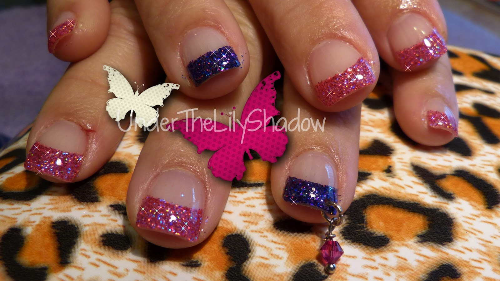 underthelilyshadow: Nicki Minaj Nail Art