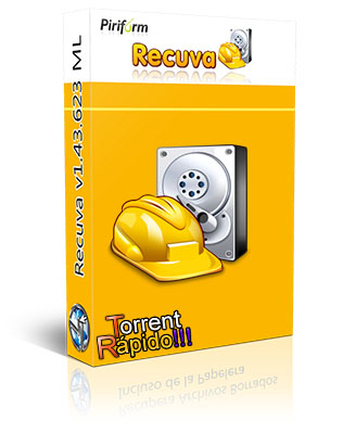 Download da Capa 3D do Programa Recuva File Recovery BY Torrent Rápido!!!
