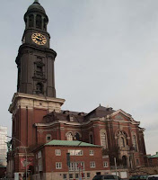 Church of St. Michael in Hamburg - called Michel