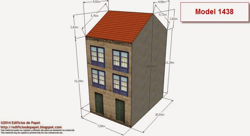 ©2014 Edificios de Papel - Modelos 1438-39 OEdificio Rehabilitado2