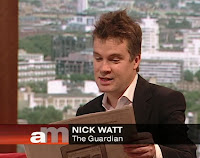 Nicholas Watt - Andrew Marr BBC1 Sunday May 26th