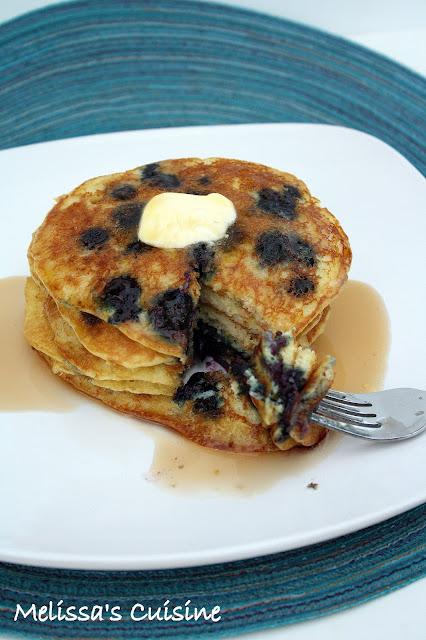 Melissa's Cuisine: Blueberry Week