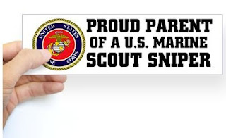 Proud Parent of a U.S. Marine Sniper