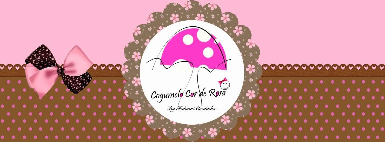 Cogumelo Cor de Rosa