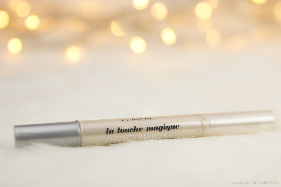 l'oreal paris, la touche magique, concealer, pale skin, pale test, swatch, review, pale skin, my pale skin, em ford, concealer, foundation, best, worst, swatch
