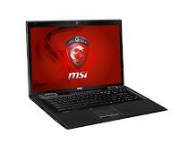 MSI GE70 0NC gaming laptop