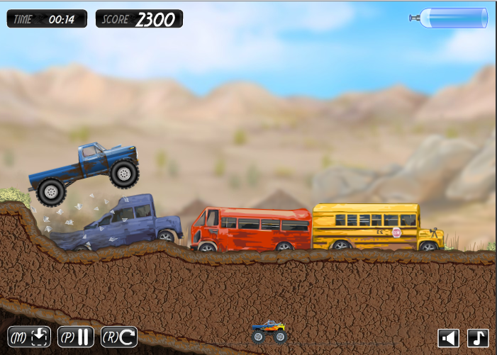 Monster Truck Trip 2 Flash Game Review