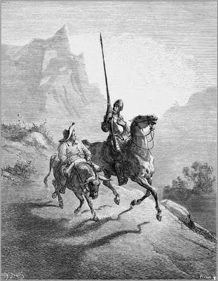 Don Quijote y Sancho (por Gustave Doré)