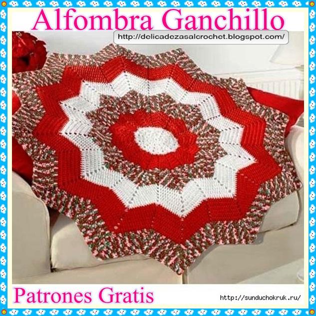 Delicadezas en crochet Gabriela: Alfombra