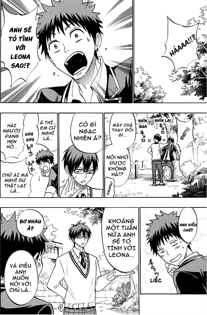 Yamada-kun to 7-nin no majo chap 180 Trang 12 - Mangak.info