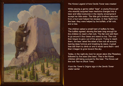 Legend of the Devils Tower