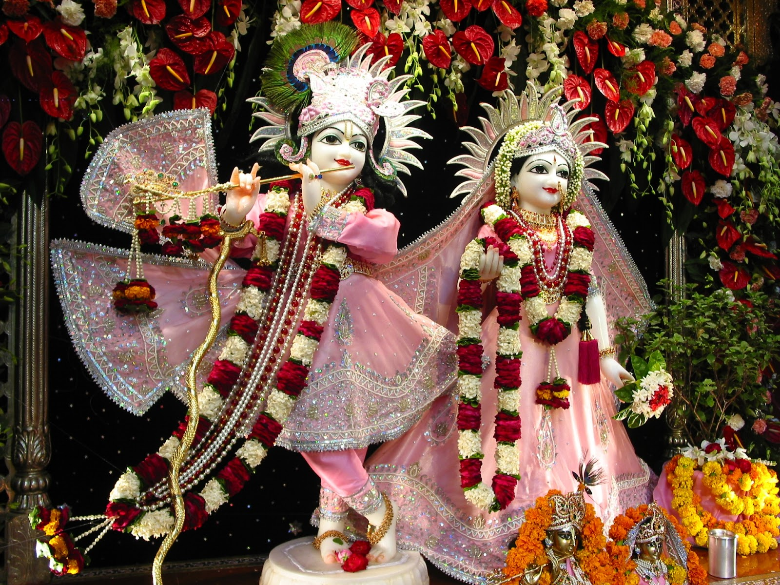 Best Hd Photos Of Radha Krishna Blessings Festival Chaska