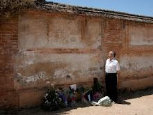 Muro del cementerio de Granada