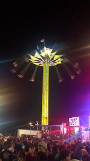 high swings ride at the fair