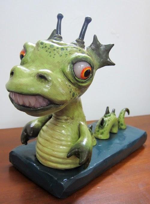 10-Loch-Ness-Deanna-Molinaro-aka-Chickenshoot-Odd-Clay-Sculptures-www-designstack-co