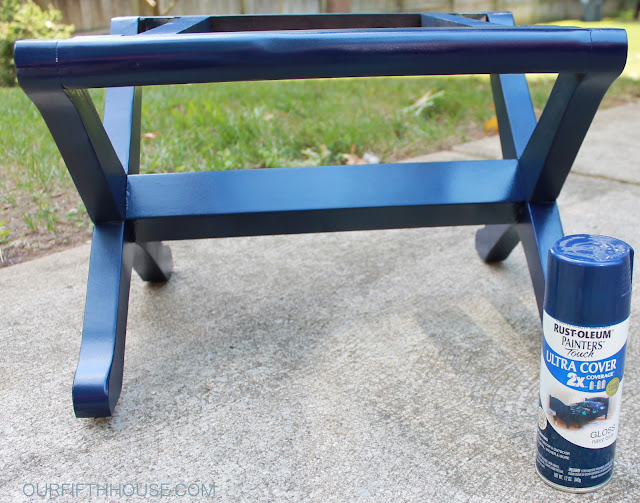 Rustoleum Gloss Navy Blue