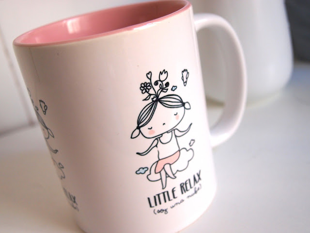 [new] Taza anti estrés Little Relax. ¡Con la lámina de regalo!