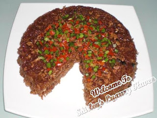 glutinuous rice recipe, chinese, asian