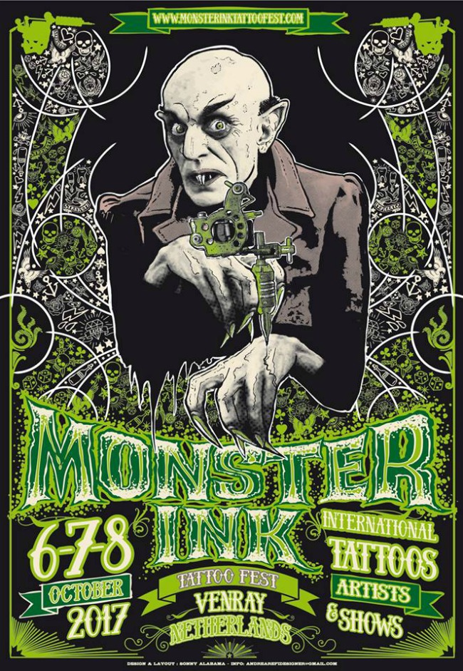 Monster Ink Venray Netherlands in October