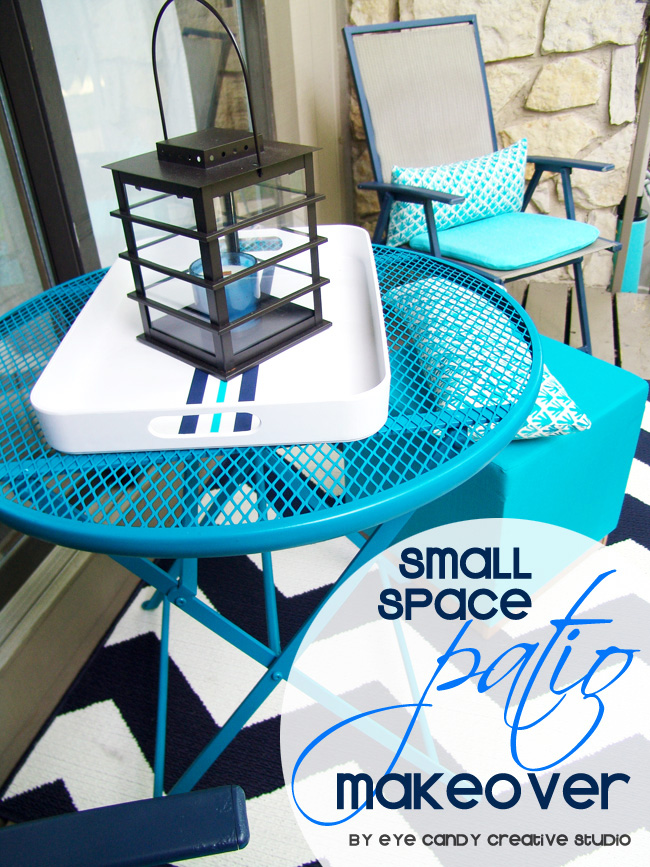 condo patio makeover, small balcony makeover, condo balcony, patio