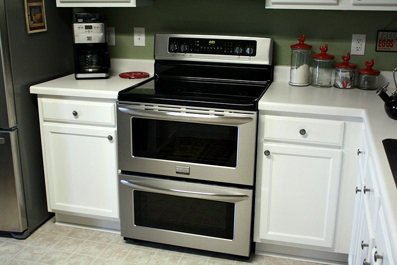 the frigidaire gallery range symmetry double oven chicken nugget feature - Frigidaire Gallery Gas Range