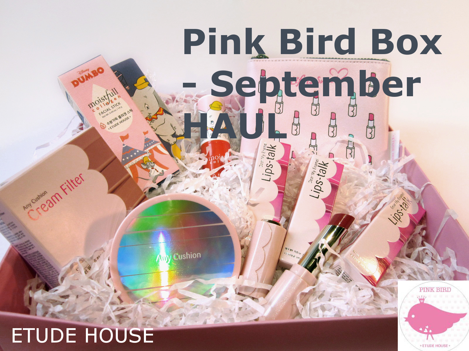 PINK BIRD SEPTEMBERBOX HAUL