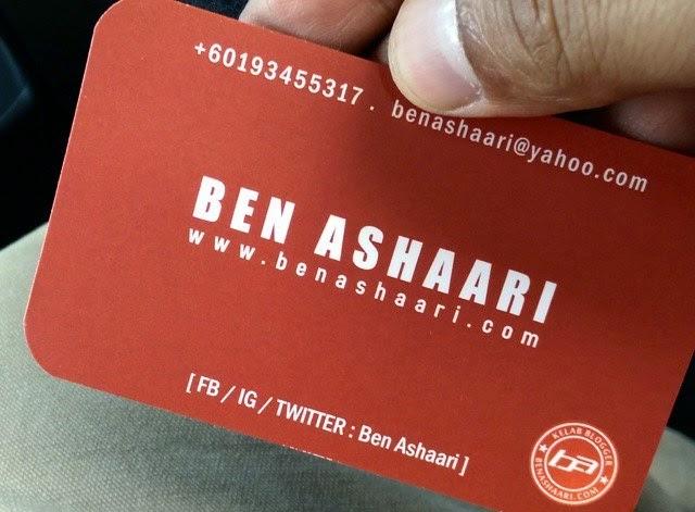 Sertai Kelab Blogger Ben Ashaari