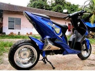 modification honda beat 1