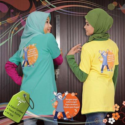 Busana Muslim Anak Qirani QT-07
