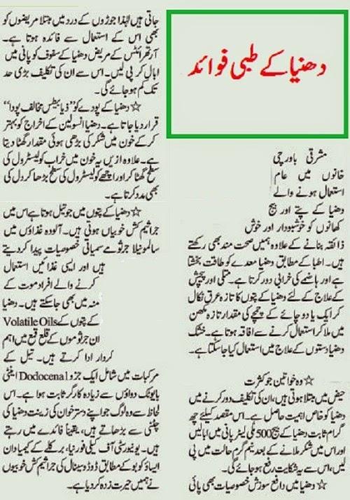 Coriander-benefits-in-urdu