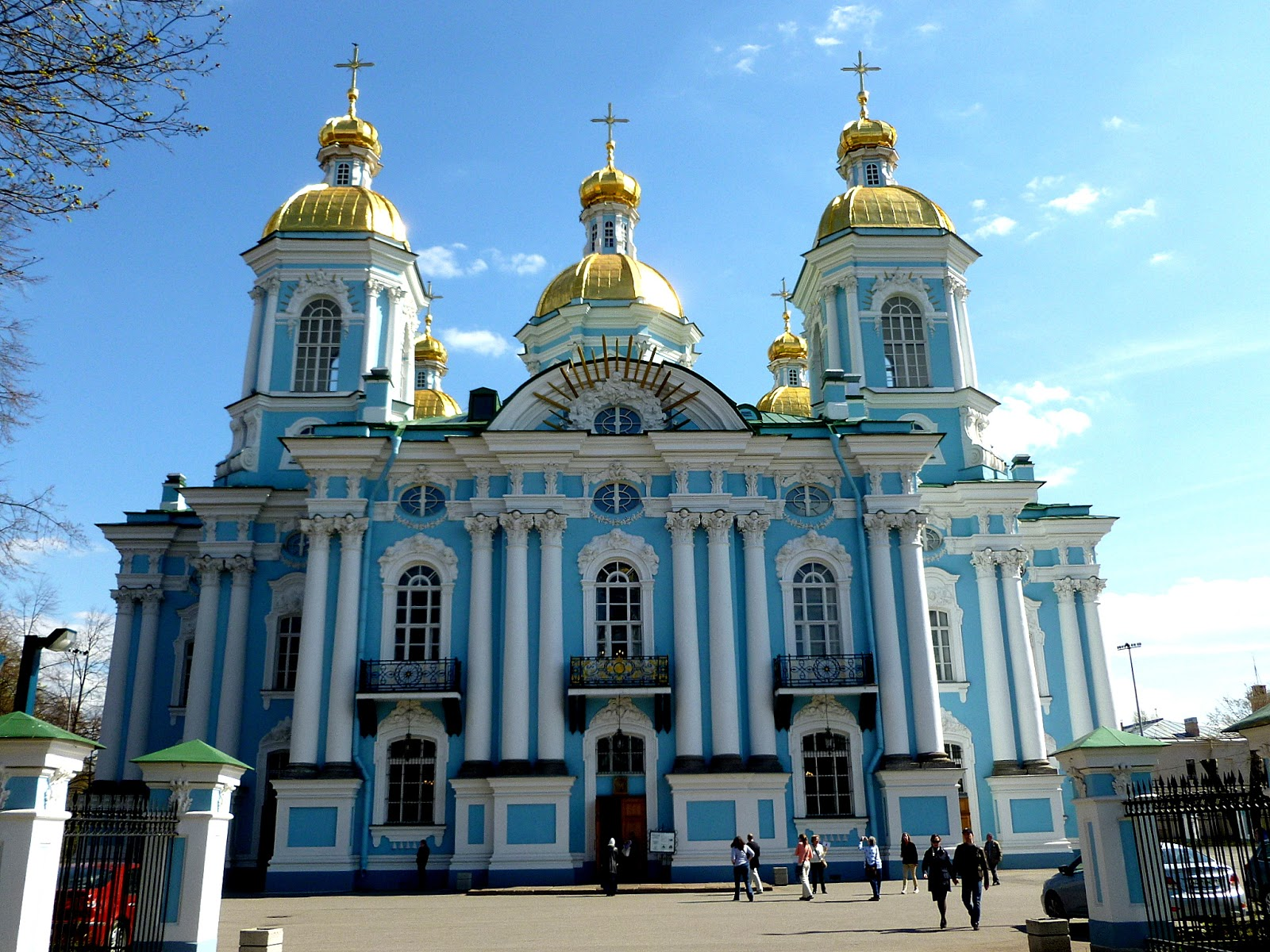photo ops baroque architecture naval cathedral of st