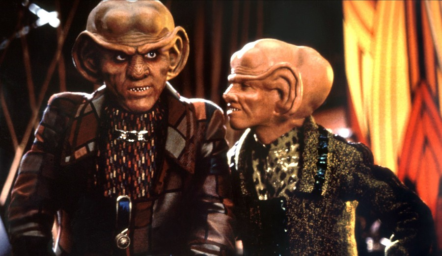 ferengi quark the nagus deep space nine rick berman brannon braga star trek bajorans cardassians gene roddenberry