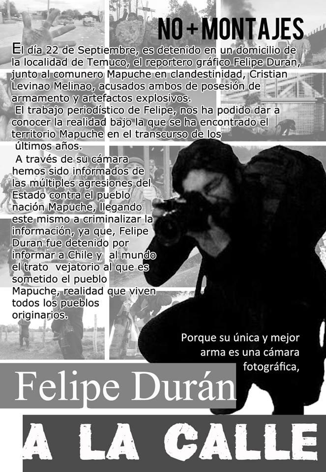 Libertad a Felipe Durán