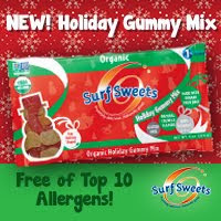 New holiday gummy mix free of top allergens!