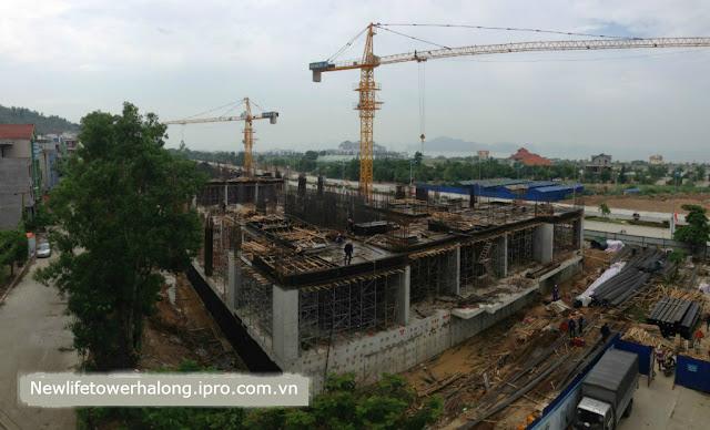 Tiến độ dự án New Life Tower Hạ Long Tháng 9/2015 1