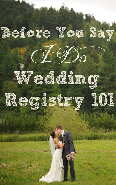 Wedding registry 101 the things we would blog for Top things to register for wedding