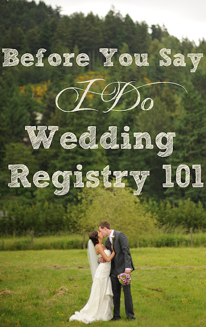The things we would blog wedding registry 101 for Things to put on your wedding registry