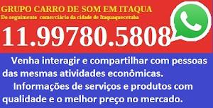 WhatsApp  do Carro de Som