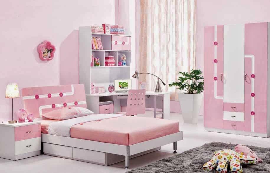 Minimalist bedroom design princess teen pink bedroom for Minimalist bedroom for teenager