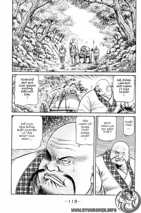 Chú Bé Rồng - Ryuuroden chap 49 - Trang 16