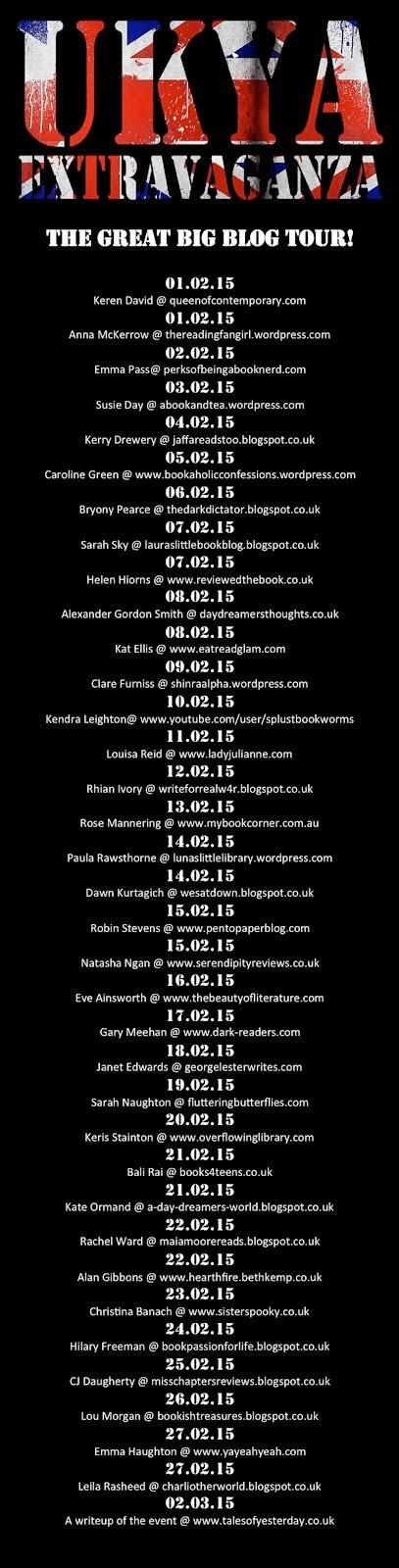UKYA Extravaganza Blog Tour