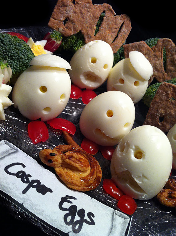 Alices Wonderkitchen Halloween Casper Eggs