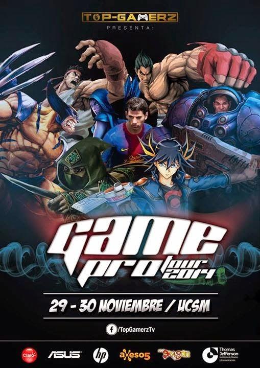 Game Pro Tour Arequipa 2014 - 29 y 30 de Noviembre