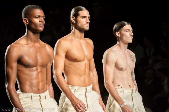 Cronica desfile fashion week madrid Etxeberria