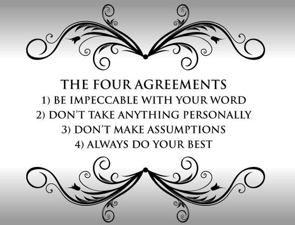 Four Agreements Quotes Unique Gfv Mama Book Club The Four Agreementsdon Miguel Ruiz  A