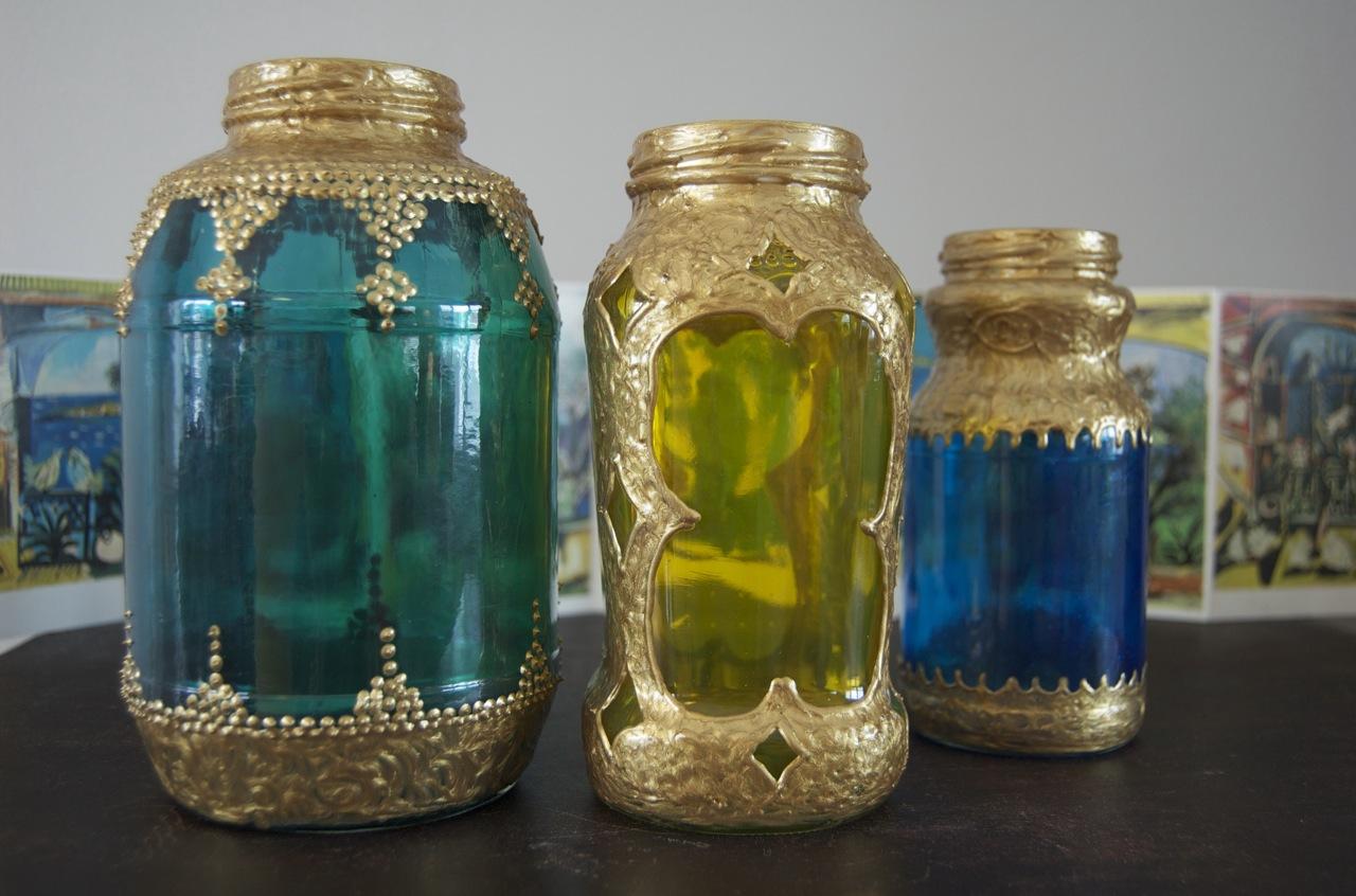 Domythic bliss inexpensive moroccan lantern diy for Homemade lantern lights