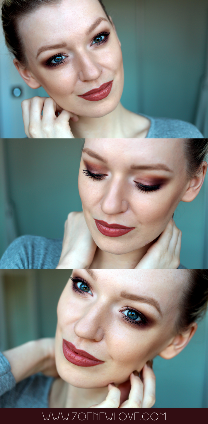 A beauty blogger reviews Cargo Cosmetics Northern Lights Eye Palette