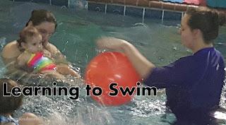 Bumblebee's Swim Lessons
